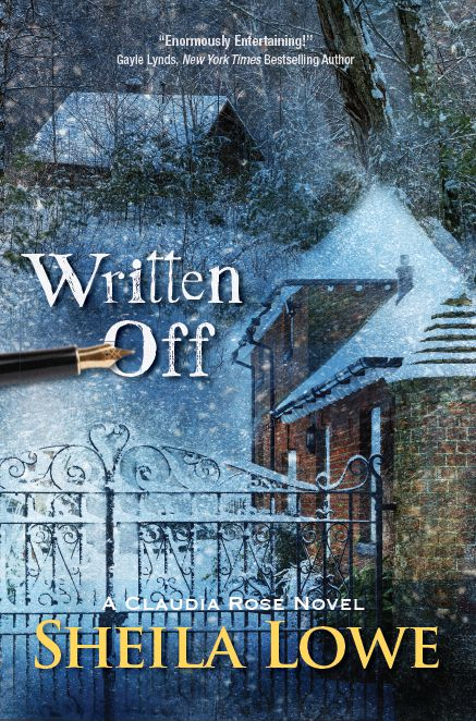 Book cover of Written Off by Sheila Lowe