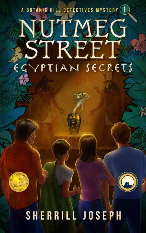 Book cover of Nutmeg Street: Egyptian Secrets by Sherrill Joseph