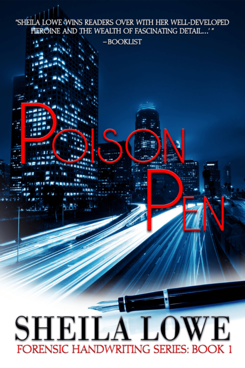 Book cover of Poison Pen by Sheila Lowe