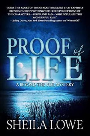 Book Cover of Proof of Live by Sheila Lowe
